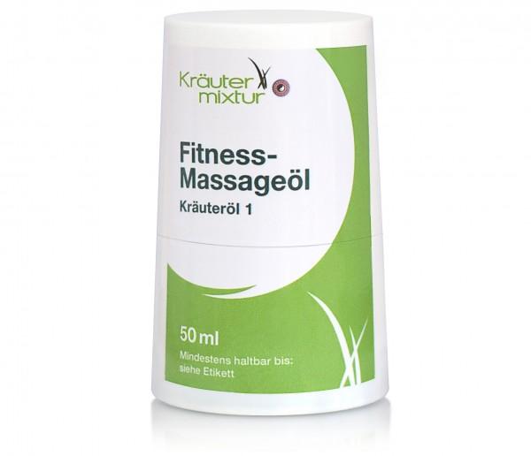 Kräutermixtur Fitness-Massageöl - 50 ml Kräuteröl Roll On