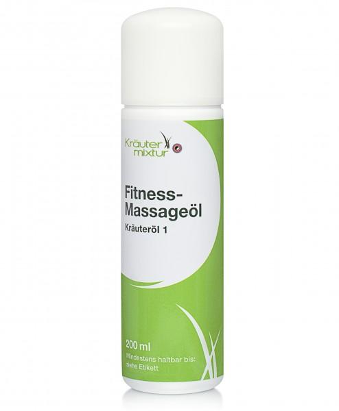 Kräutermixtur Fitness-Massageöl - 200 ml Kräuteröl 1